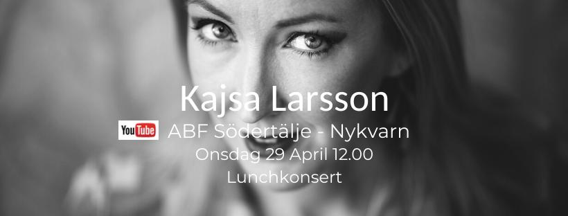 Livestreamad lunchmusik på YouTube ABF Södertälje Nykvarn